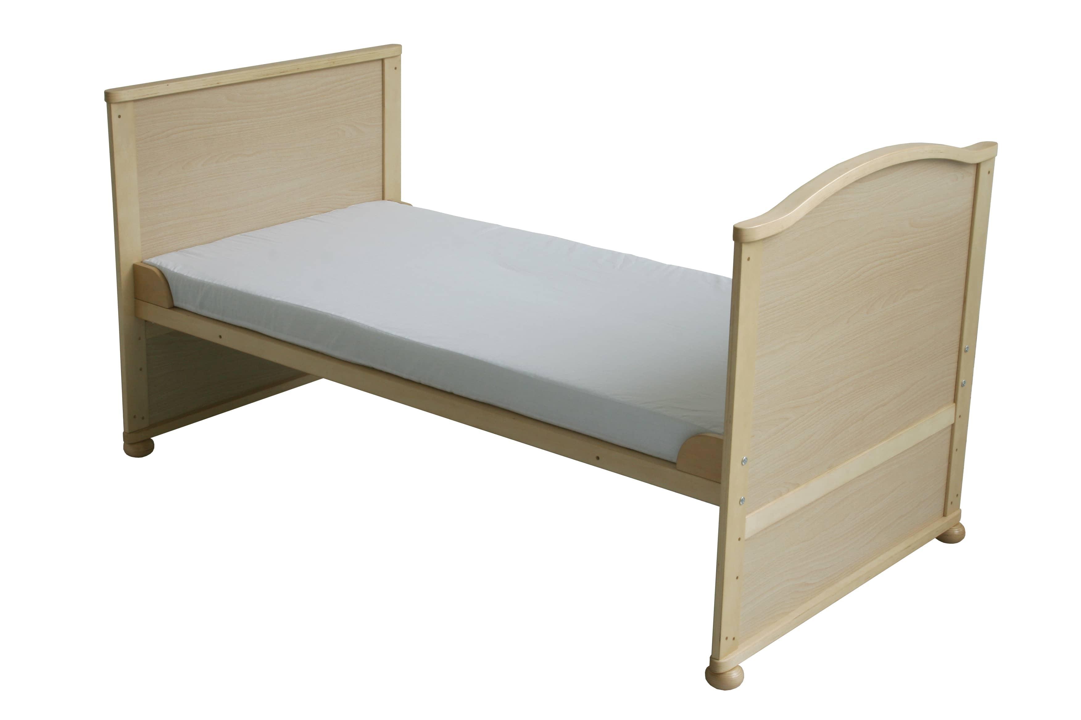 roba kombi kinderbett lukas naturfarben 70x140cm. Black Bedroom Furniture Sets. Home Design Ideas