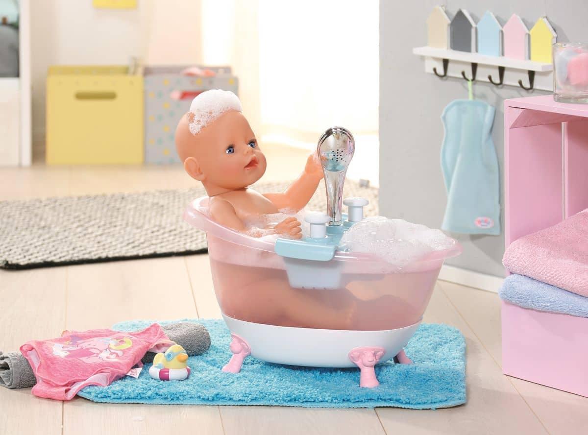 Baby Born Badewanne Mit Duschbrause : ... de Spielzeug Puppen und Puppenzubehör Baby Born Baby Born Interactive