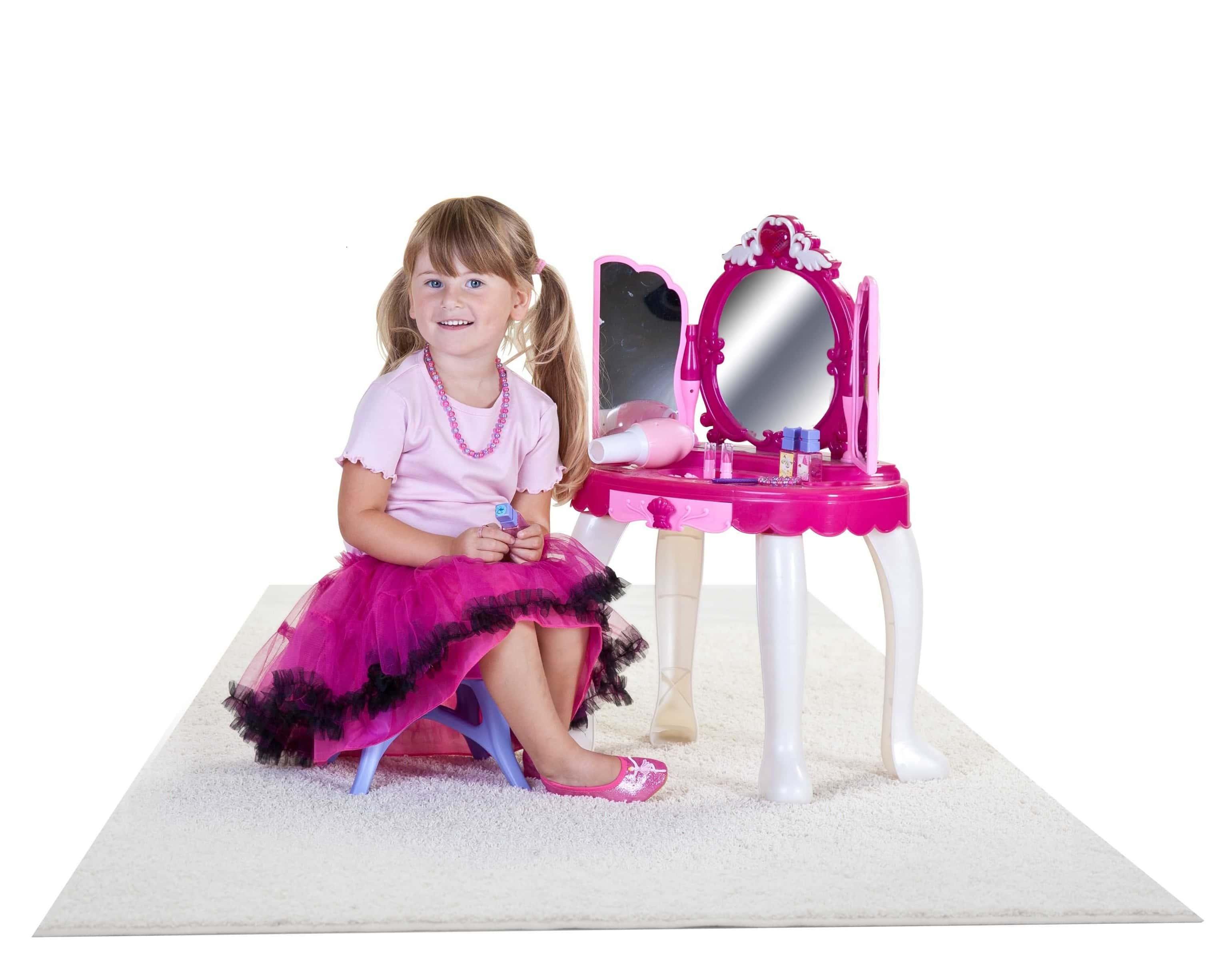 besttoy kinder schminktisch 72cm hoch kaufen. Black Bedroom Furniture Sets. Home Design Ideas