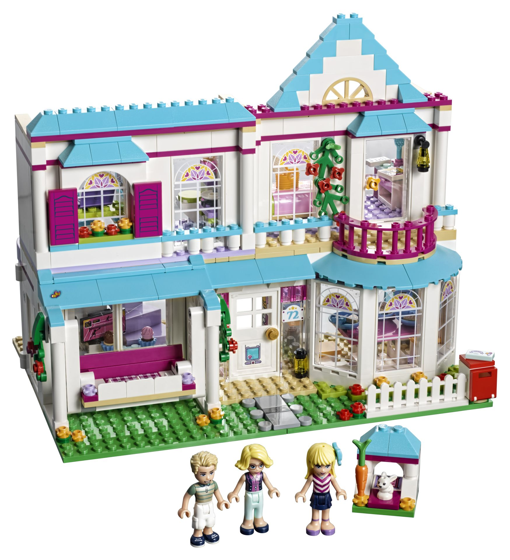lego friends 41314 stephanies haus g nstig online kaufen. Black Bedroom Furniture Sets. Home Design Ideas