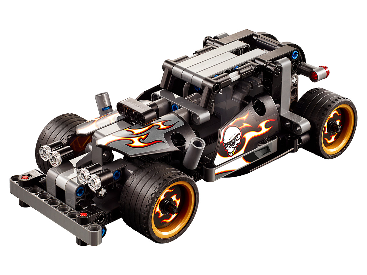 lego technic 42046 fluchtfahrzeug g nstig online kaufen. Black Bedroom Furniture Sets. Home Design Ideas