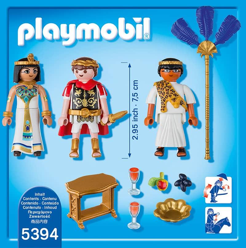 playmobil 5394 c sar kleopatra playmobil history. Black Bedroom Furniture Sets. Home Design Ideas
