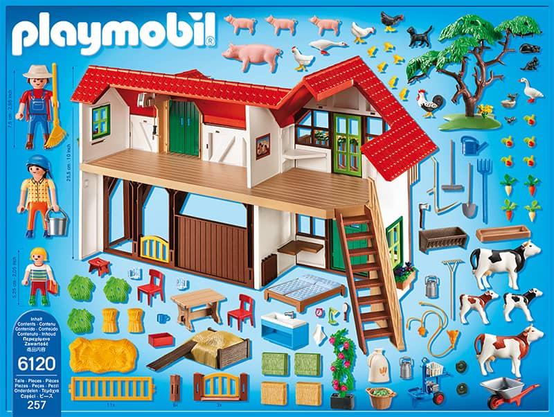 playmobil 6120 gro er bauernhof playmobil country. Black Bedroom Furniture Sets. Home Design Ideas