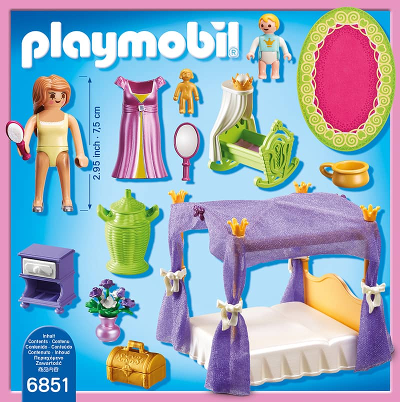 Playmobil 6851 himmlisches schlafzimmer playmobil for Playmobil chambre princesse