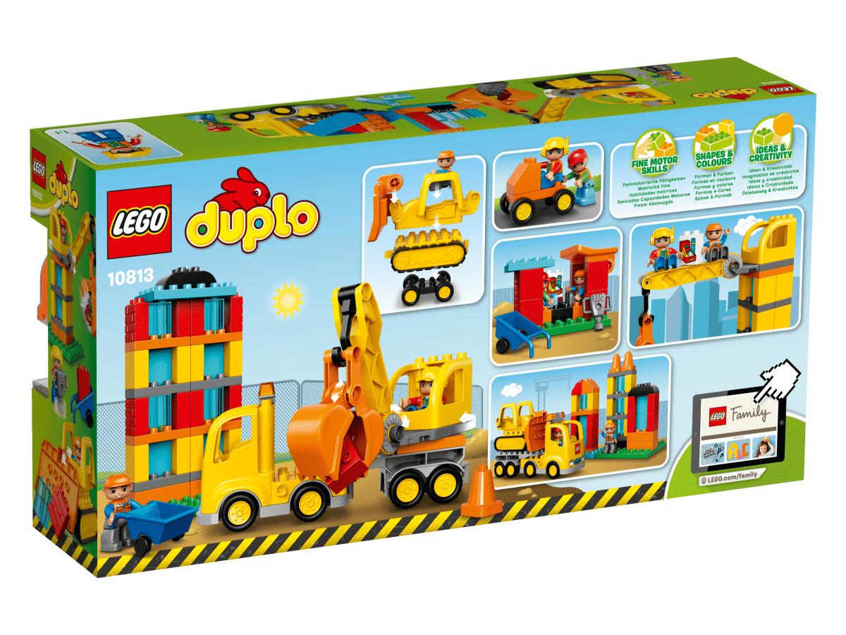 Lego duplo 10813 gro e baustelle g nstig online kaufen - Adventskalender duplo ...