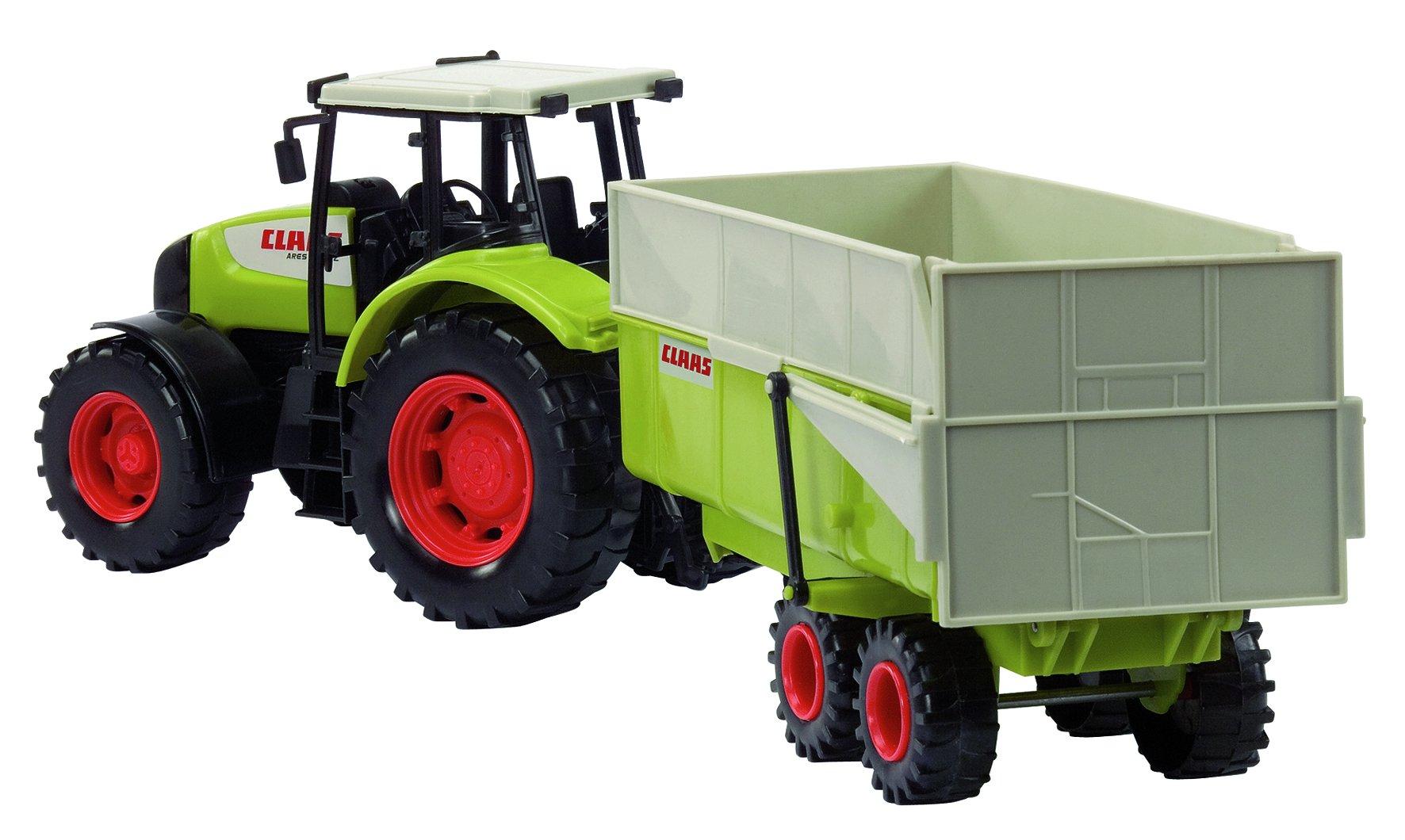 Dickie traktor claas ares anhänger günstig online kaufen