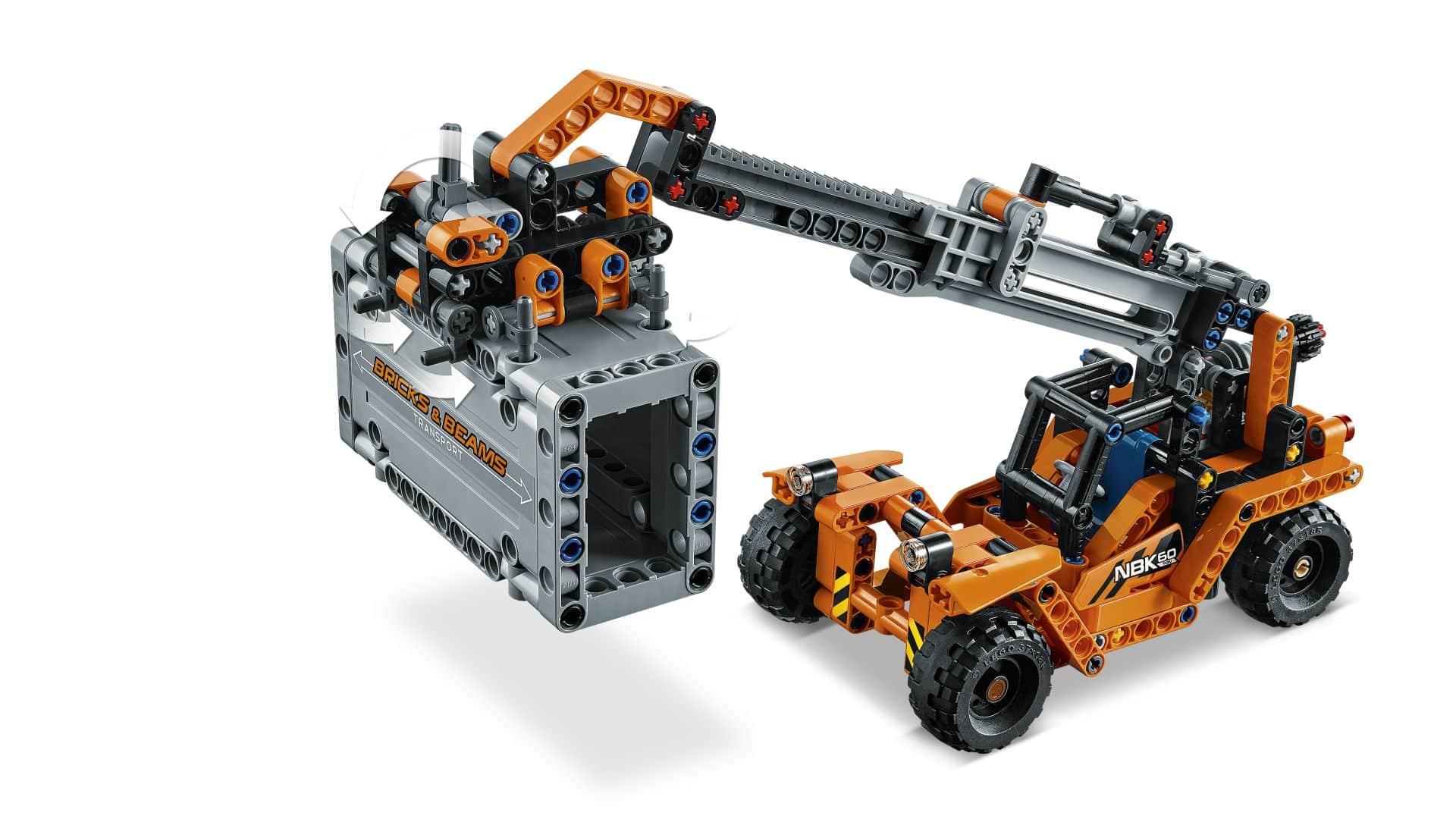 lego technic 42062 container transport g nstig online. Black Bedroom Furniture Sets. Home Design Ideas