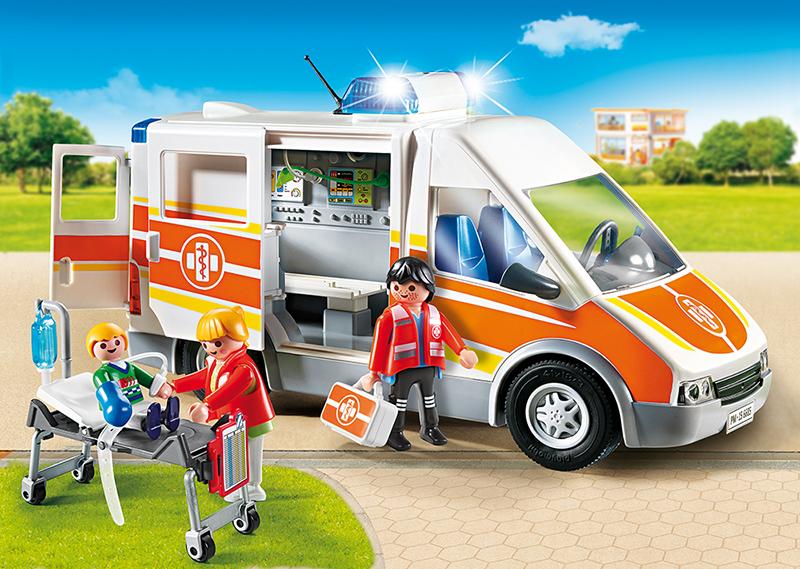 krankenwagen  playmobil city life 6685 kaufen  mifusde