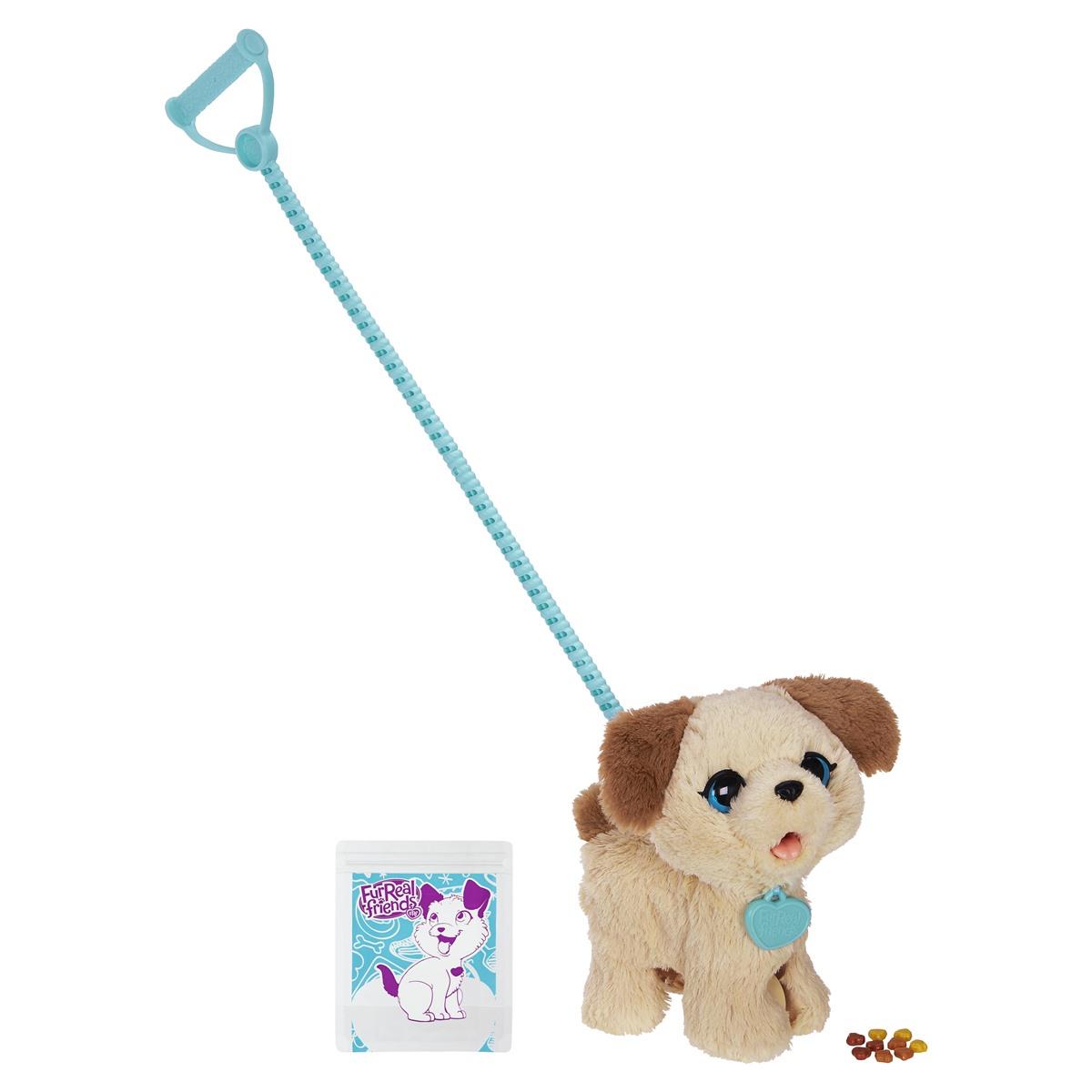 Toy Dog On Lead That Walks