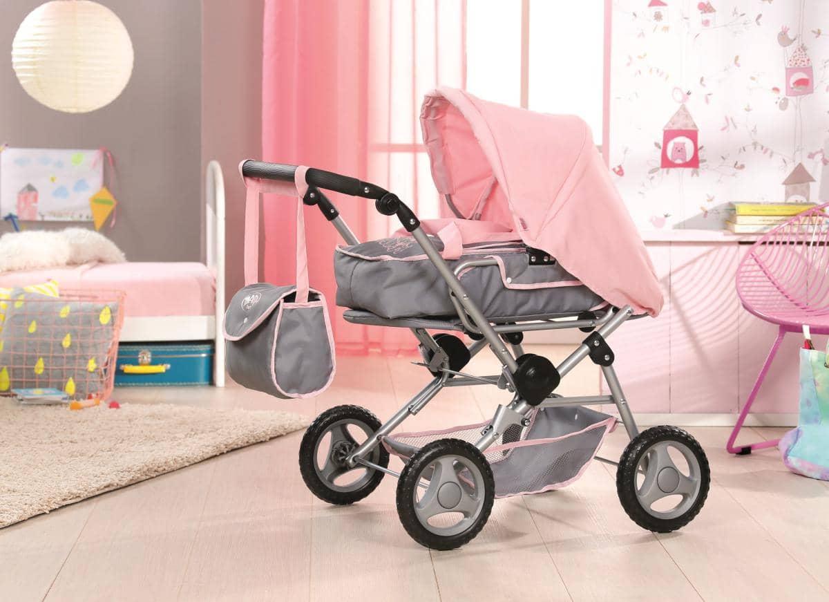 baby born puppenwagen deluxe zapf g nstig online. Black Bedroom Furniture Sets. Home Design Ideas