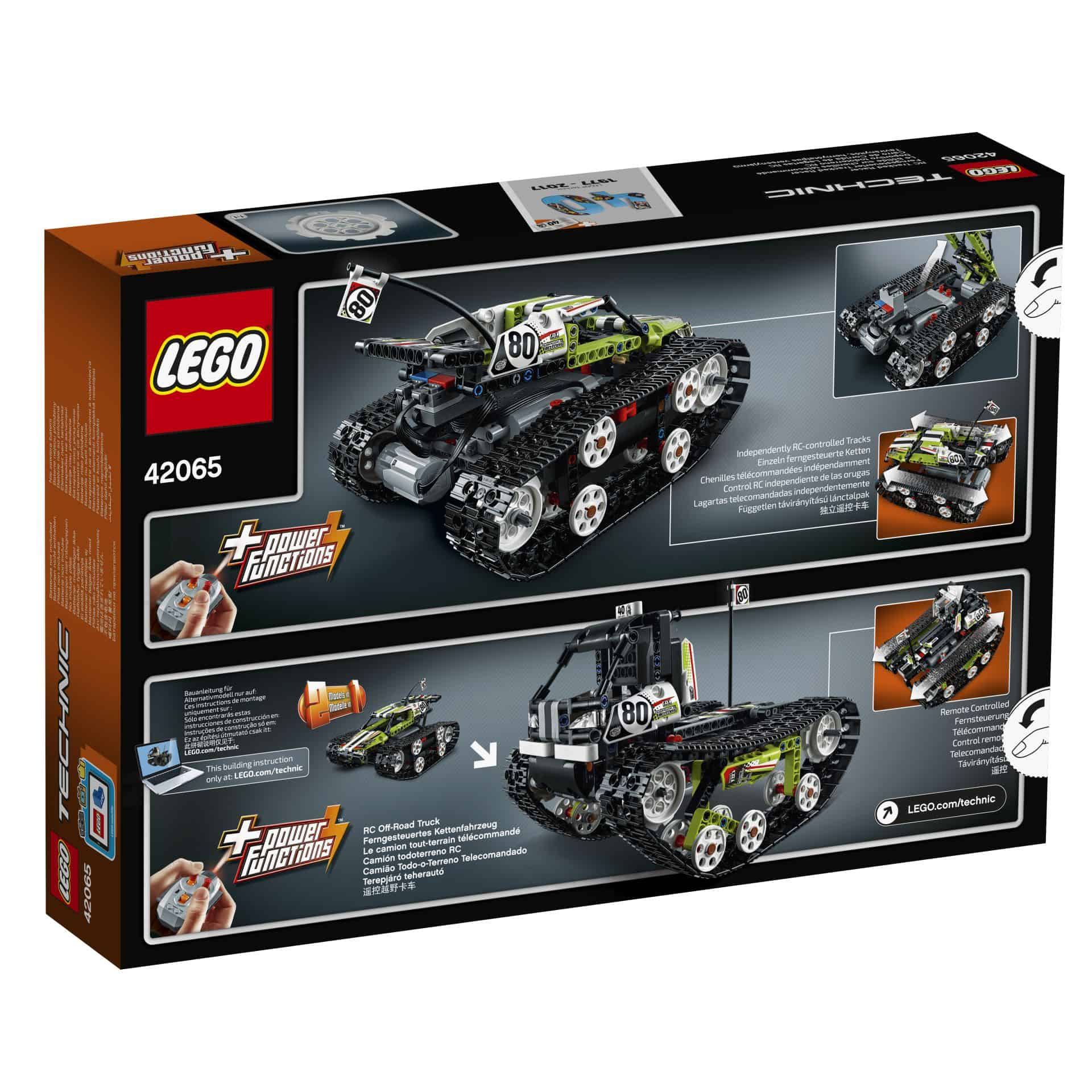 lego technic 42065 ferngesteuerter tracked racer. Black Bedroom Furniture Sets. Home Design Ideas