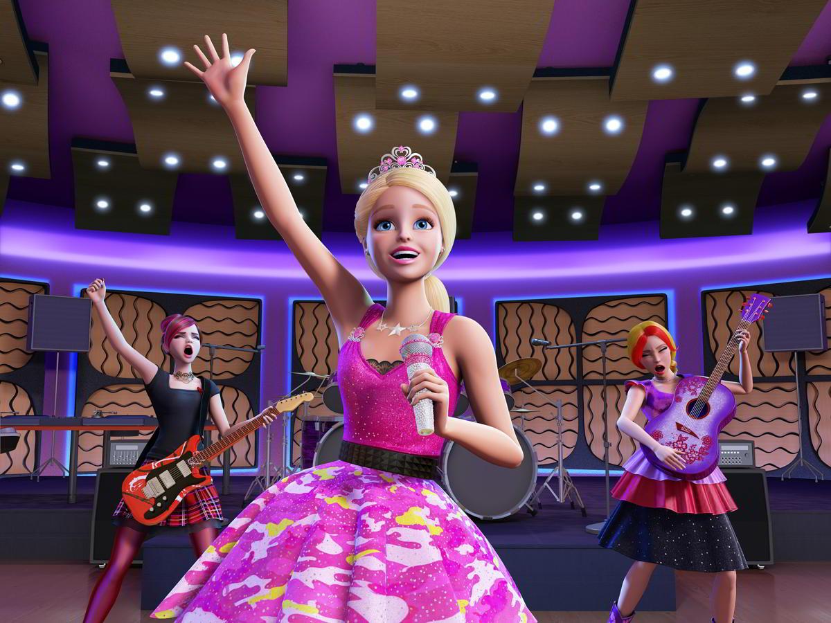 product barbie eine prinzessin rockstar camp kinder jugend