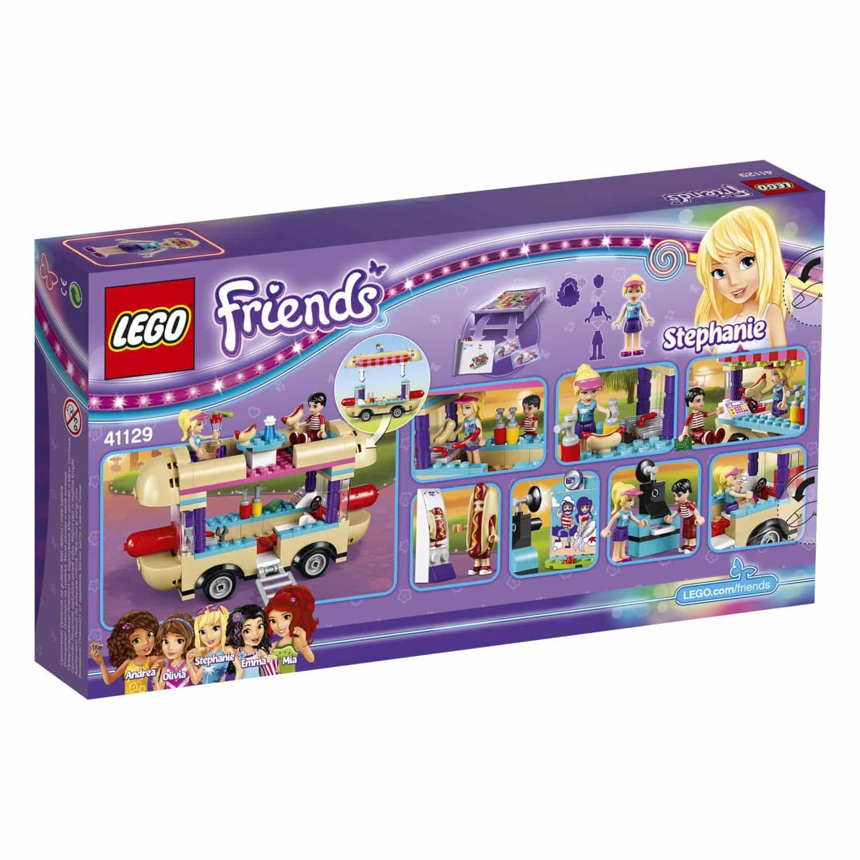 lego friends 41129 hot dog stand im freizeitpark. Black Bedroom Furniture Sets. Home Design Ideas