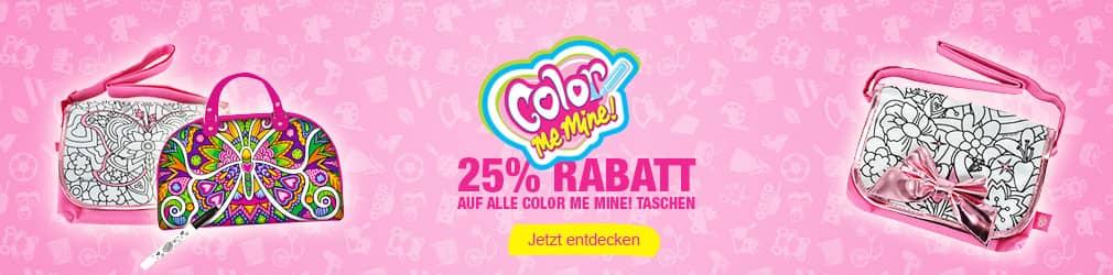 xB 2015-07 Color Me Mine 25% Rabatt