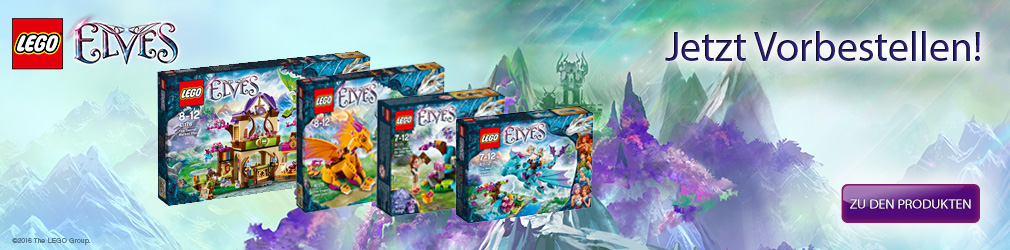 xB 2016-02 Lego Elves Vorbestellen