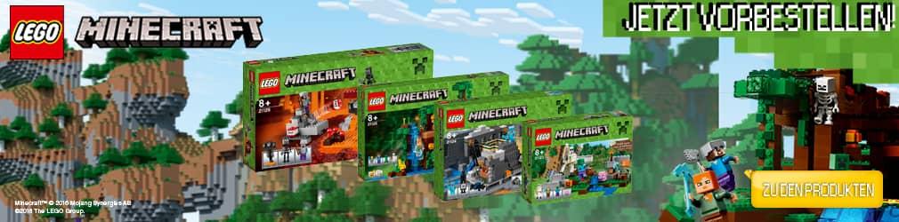 xB 2016-06 LEGO Minecraft Vorbestellen!