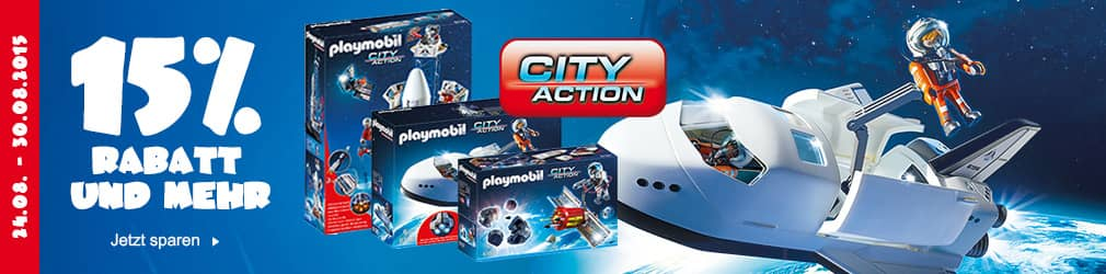 xB 2015-08 15% Rabatt Playmobil City Action