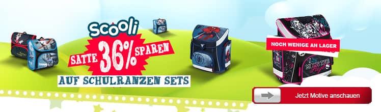 xB 2014-03 Scooli Schulranzen Sets