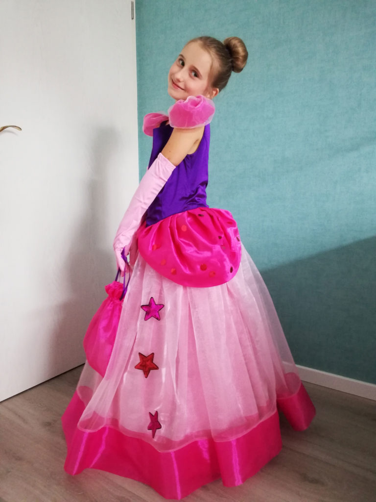 Gewinnerin Kleid