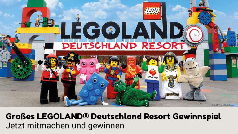 Eingangsbereich Legoland Deutschland Resort